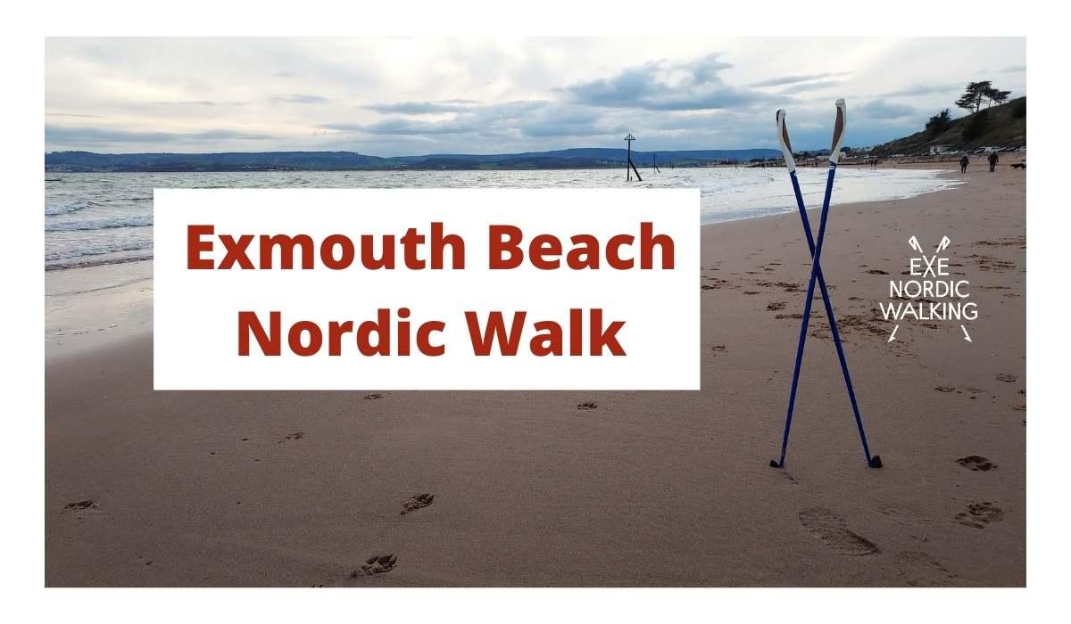 Exmouth Beach Nordic Walk