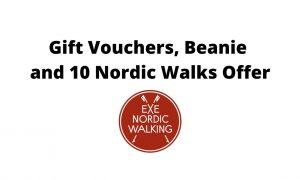 Gift Vouchers, Beanie and 10 Walks Offer