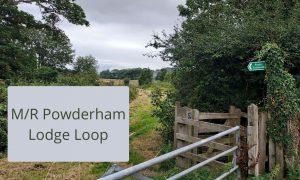 Powderham castle lodge loop